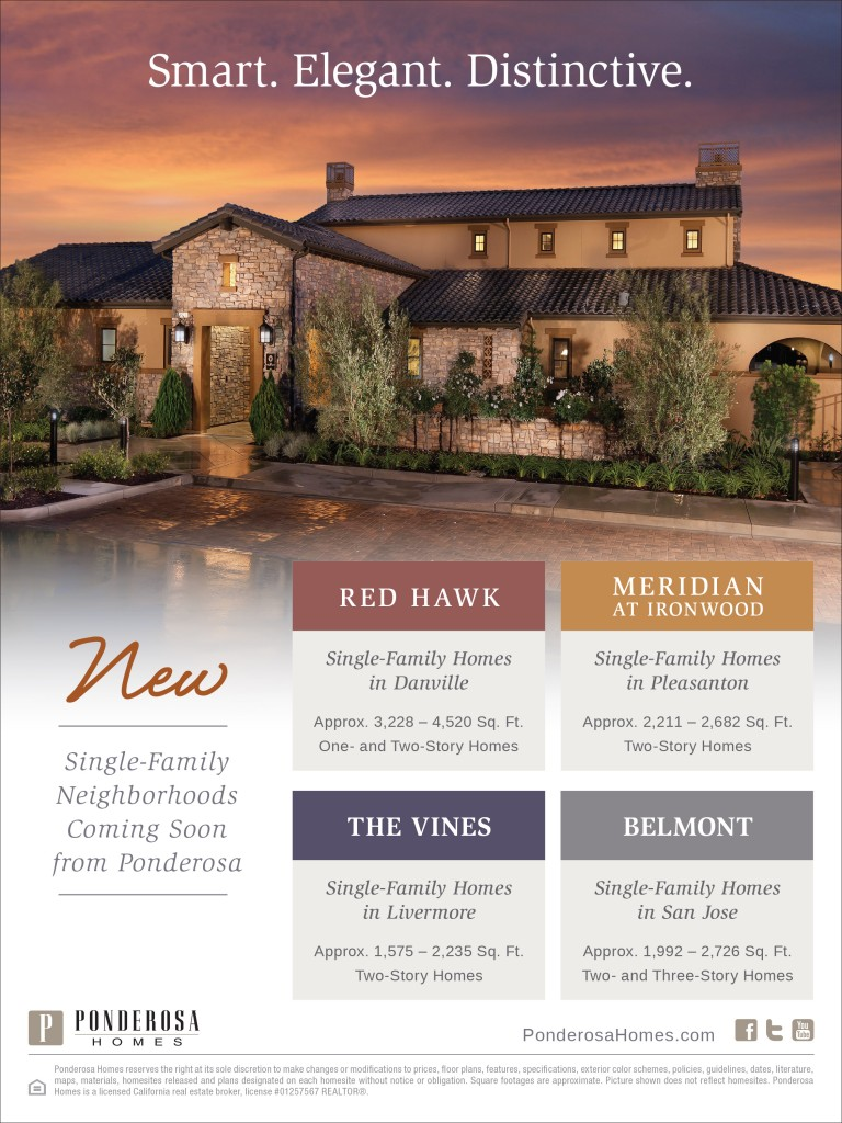 New Northern California Homes