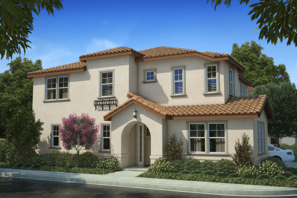 Residence 1 floor plans for new homes at belmont in san jose for Northern house plans