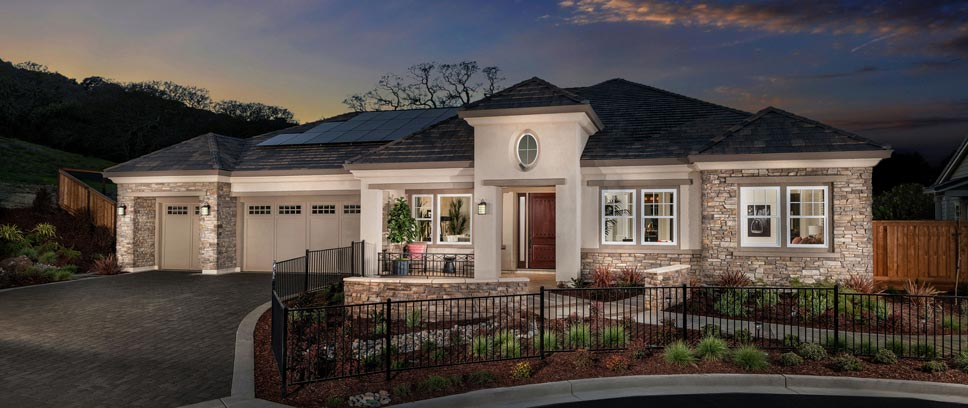 New homes for sale northern california ponderosa homes for Southern california custom home builders